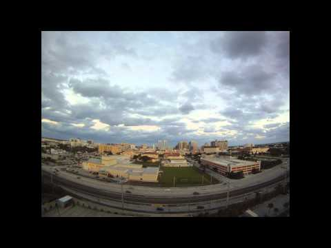 Downtown West Palm Beach Time-Lapse