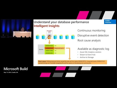 Azure SQL Database the intelligent database – Your database on Autopilot