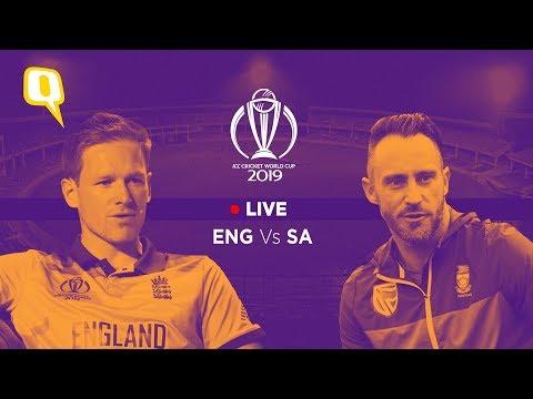 ICC World Cup 2019 Live | England VS South Africa | Joss Buttler Vs Kagiso Rabada