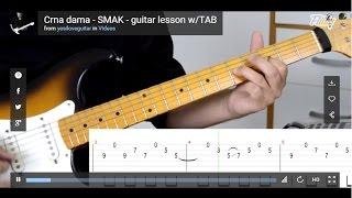 Crna dama - SMAK - cover lesson