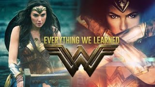 Everything we learned from our WONDER WOMAN edit bay visit with Patty Jenkins (2017) Gal Gadot