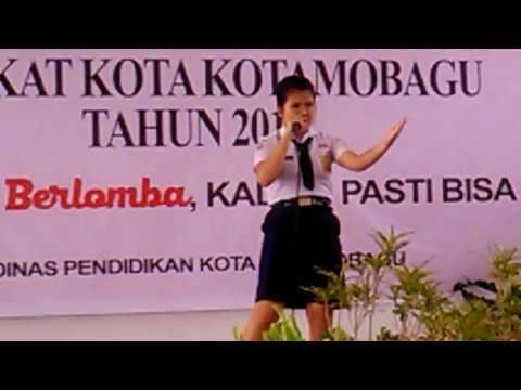!!!JUARA I  menyanyi indonesia  jaya FLS2N SMP 2017 kotamobagu