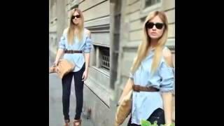 Женские модные рубашки Модная одежда для женщин