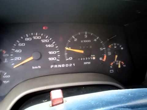 Problema Tablero Chevrolet Blazer 1995 Automatica