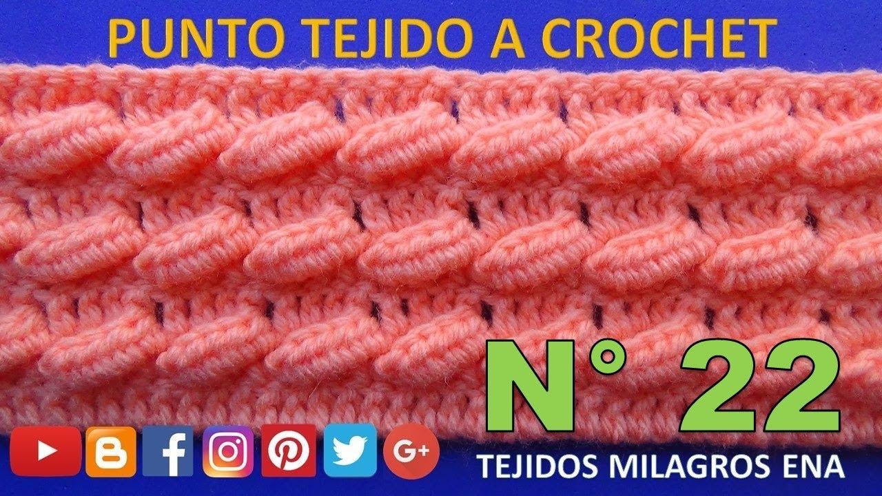 Punto a crochet OLITAS para suéteres y bufandas paso a paso - YouTube 8a4416d299a