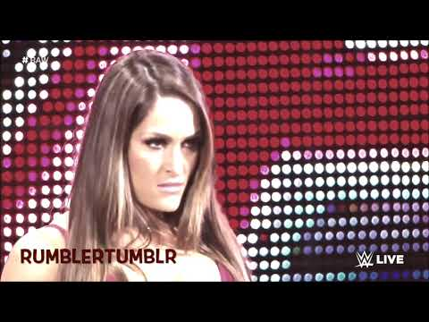 Aj Styles/Nikki Bella~She will Be loved (Requested By Cody Specht)