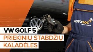 Naršykite kaip išspręsti problemą Amortizatoriaus Apsauga VW: vaizdo vadovas