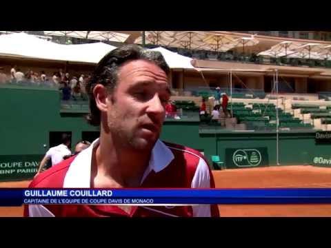 Monaco domine l'Égypte 3 à 1 en barrages de Coupe Davis