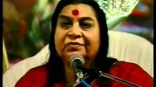 H.H.Shri Mataji Nirmala Devi at Mahashivaratri Puja 1991
