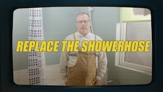 How To Replace The Showerhose   Geoff's Hacks