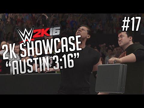 WWE 2K16 2K Showcase - Austin 3:16 Gameplay Walkthrough Part 17