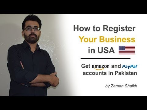 How to Register Your Business in USA from Pakistan
