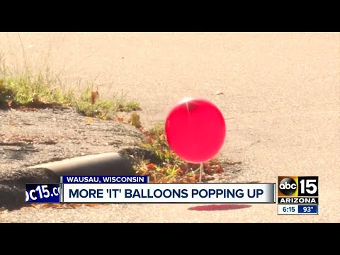 Red balloons popping up across the country