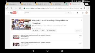 Welcome to se-rua academy creampie festival copyright problem | Adam Wilding