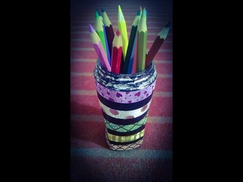 how to make colored pencils
