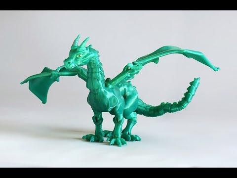 BraQ  Dragón Articulado 3d impreso