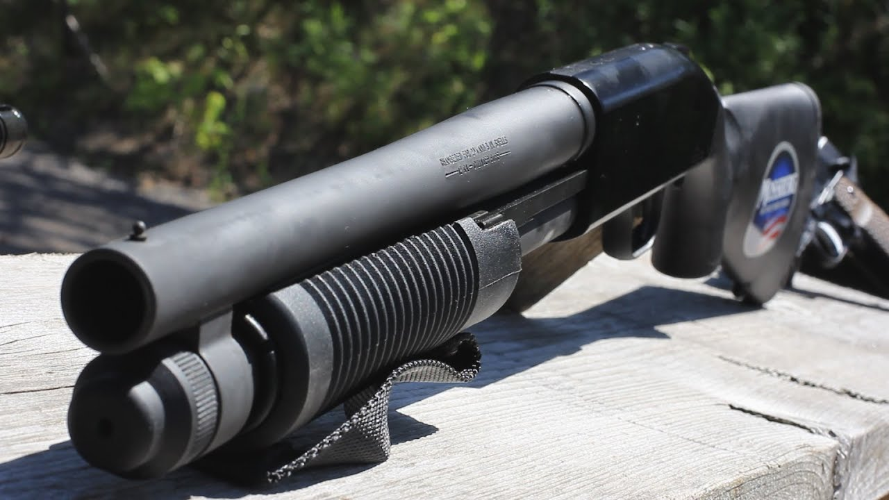 Rare Canadian Legal 14 Pump Action Shotgun Mossberg 590 Persuader
