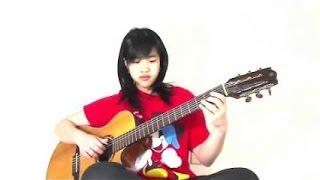 Đêm Tâm Sự (Cover: Virginia Nguyen - Bé Mẫn) Guitar Solo