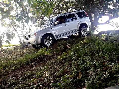ford everest 2012 AT limited some downhill