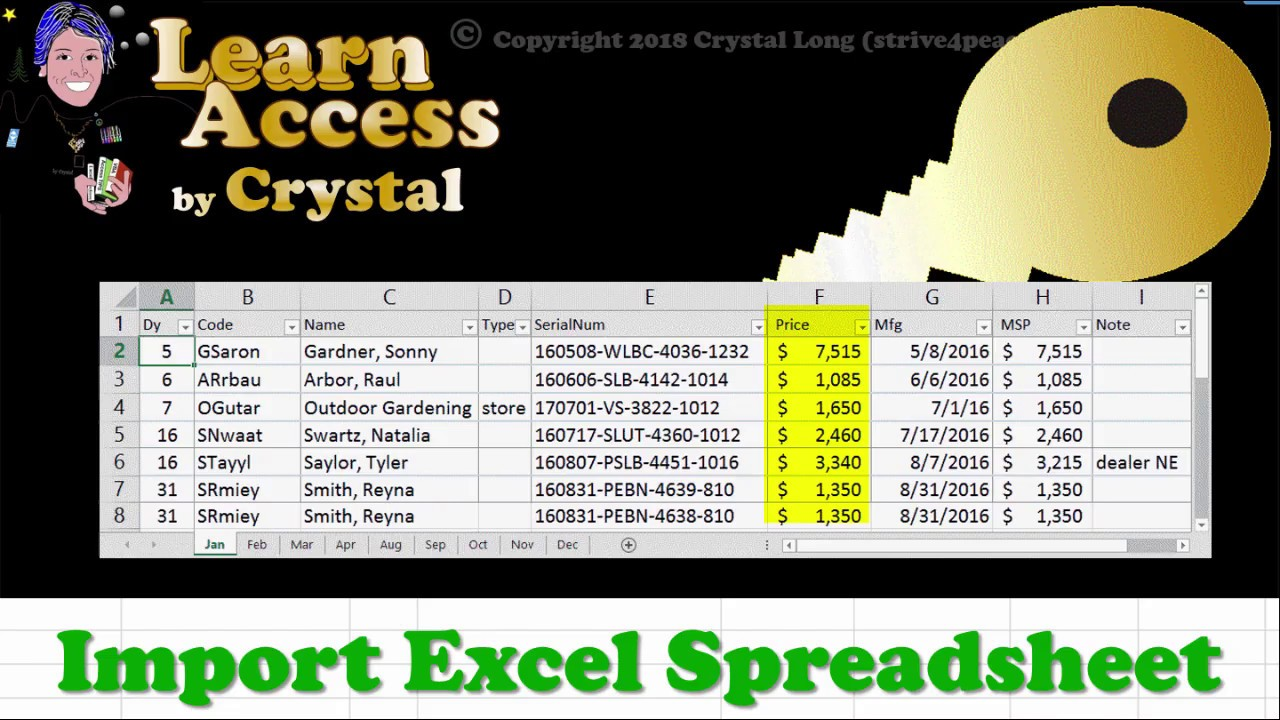 Access: Importing Excel Spreadsheets - Strategic Finance