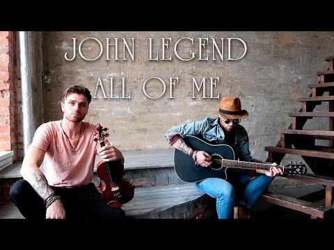 All of Me John Legend Violin cover instrumental
