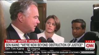 Kaine: Russia investigation now potentially a