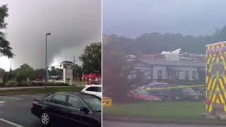 1 Person Dead, Another Hospitalized After Tornado Touches Down in Virginia