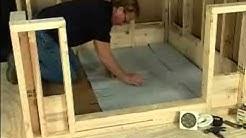 Chloraloy Shower Pan Liner - Installation Video