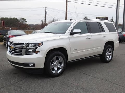 2015 Chevrolet TahoeSuburban LTZ 4X4 Start Up, Exhaust, and In Depth Review