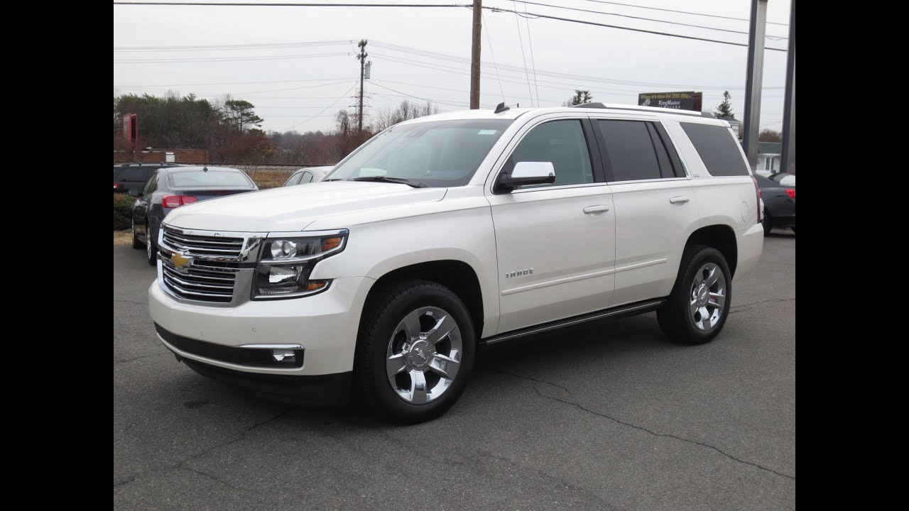 2015 chevrolet tahoe suburban ltz 4x4 start up exhaust and in depth review youtube