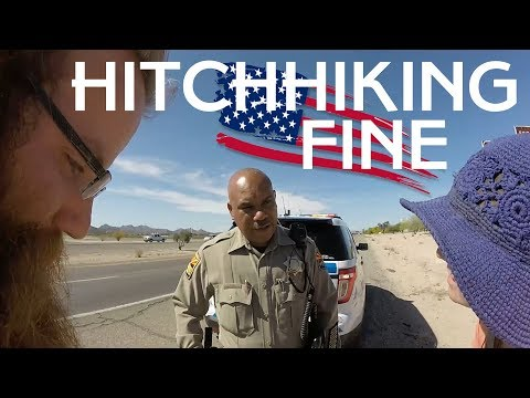 $565 FINE FOR HITCHHIKING IN THE USA