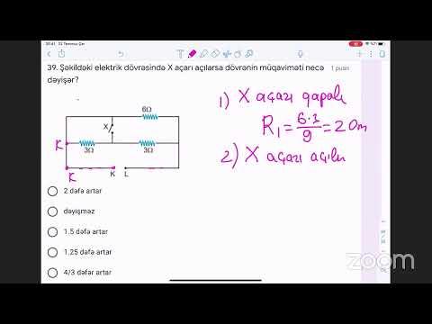 Namig Süleymanov - MİQ,Sertifikasiya sınağı 2 (İzahlı həll)