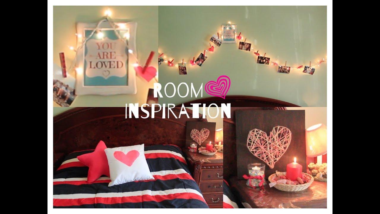 Diy decora tu cuarto room inspiration san valentin for Ideas decoracion san valentin