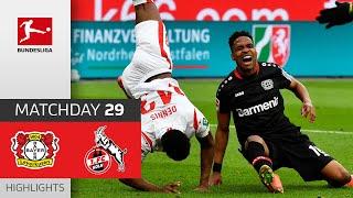 Bayer 04 Leverkusen - 1. FC Köln  3-0  Highlights  Matchday 29 – Bundesliga 2020/21