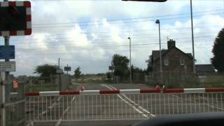 Maxey Level Crossing