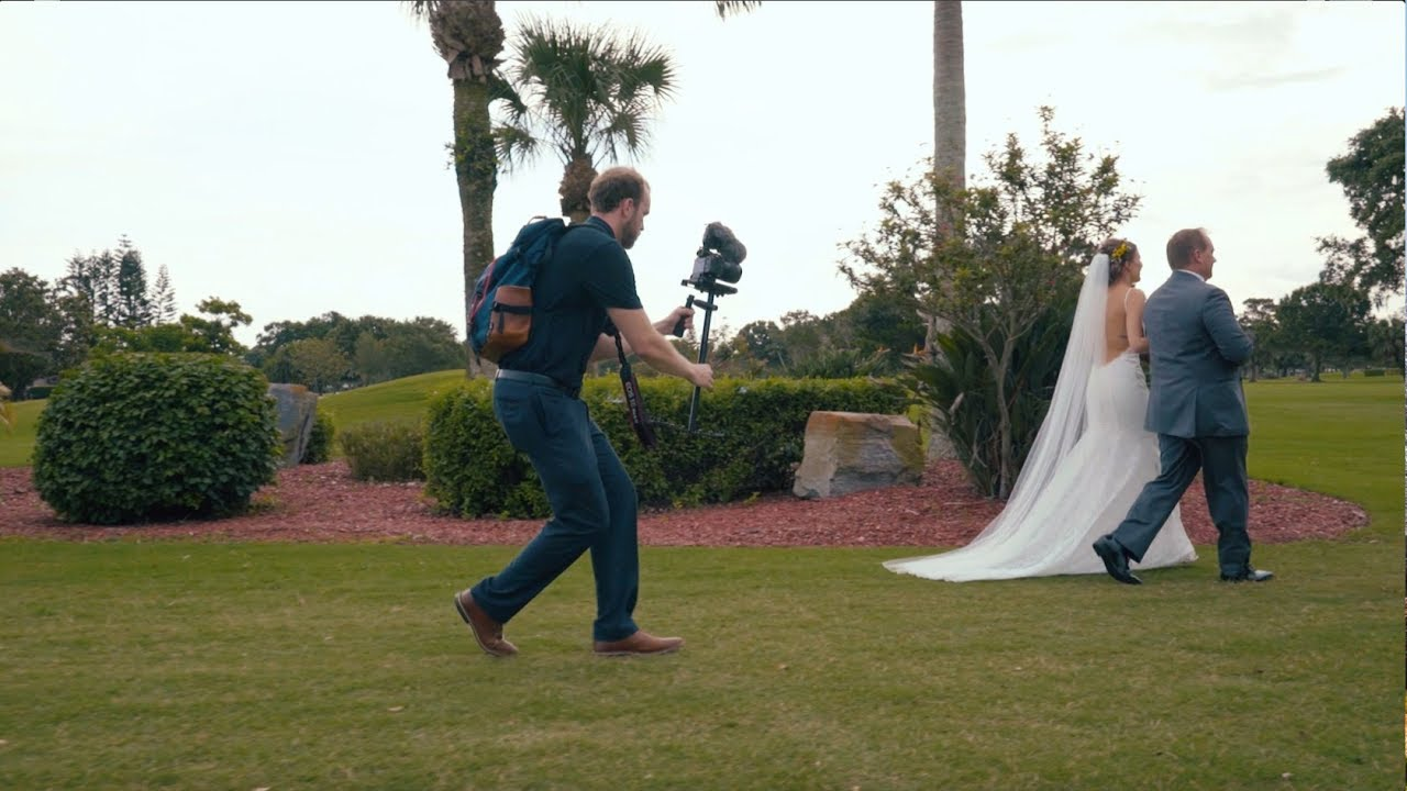 How to Shoot a Wedding Video Solo - YouTube