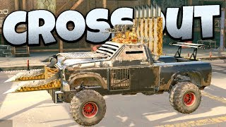 Crossout - Redneck Rampage! -  Crossout Open Beta Gameplay