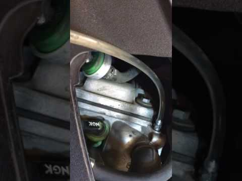PIAGGIO MP3 coolant change