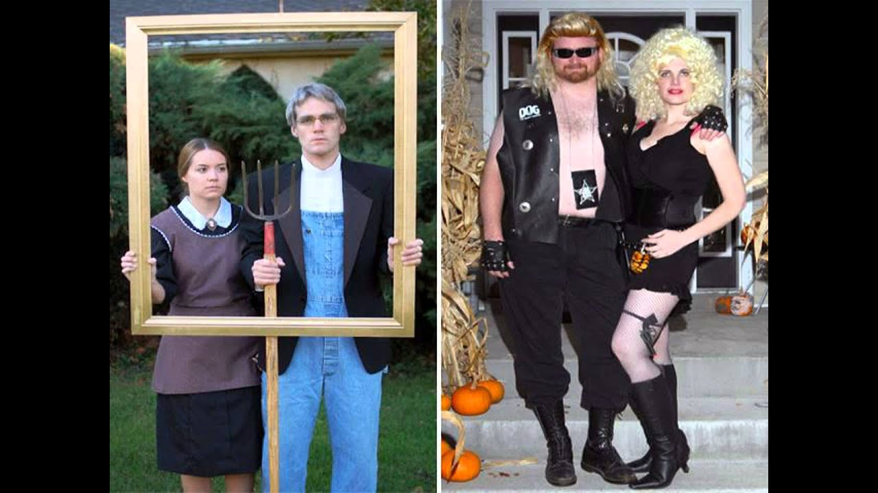 easy diy couples halloween costumes  sc 1 st  YouTube & easy diy couples halloween costumes - YouTube