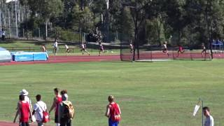U/16yrs 200m women Final,  Down Under Championships, Griffith University Athletics Track 9/07/2017 2017 Video
