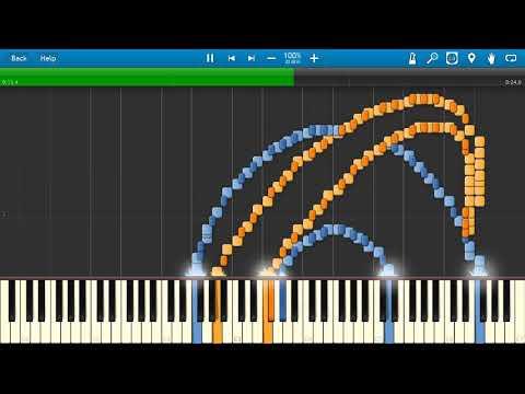 INTERNET EXPLORER Synthesia MIDI Art