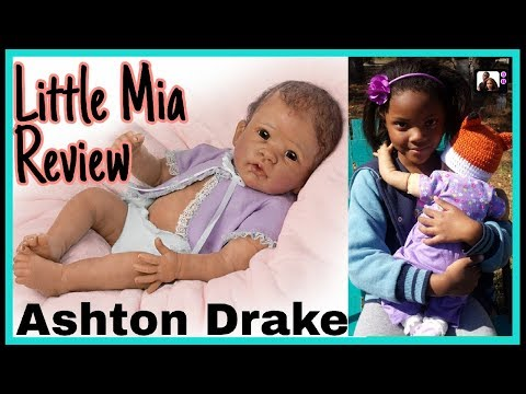 Little Mia Doll Review and Details by Ashton Drake Galleries / Full vinyl torso and rooted hair