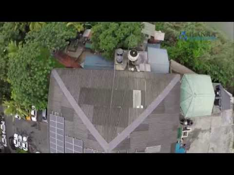 Aerial Video of JLanka Solar Power Installations - Commercial Projects