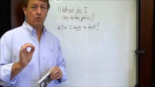 Talking to Police