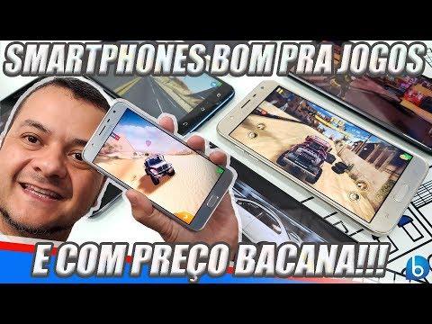 SMARTPHONES BONS PRA JOGOS E COM PREÇO LEGAL!!!