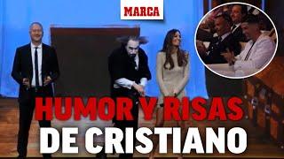 La actuación de humor que encantó a Cristiano en los Globe Soccer Awards 2019 I MARCA