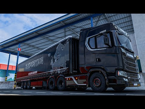 Truck Driving Adventures   The Long Journey   Estonia - Portugal   ETS2 1.40