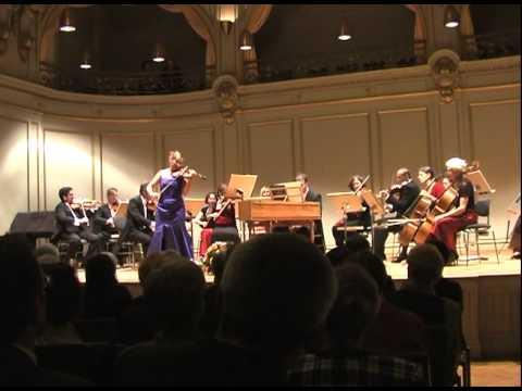 """A. Vivaldi Herbst aus """"Die vier Jahreszeiten"""" Maria Solozobova live aus der Tonhalle Zürich"""