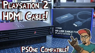 Playstation 2 HDMI Cable! Pound HD Link PS1/PS2 Compatible!