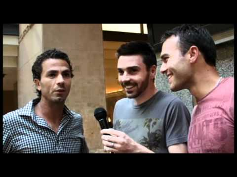 Rojer Dishes Gossip In Sydney Player Party Interview